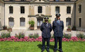 Les deux commandants