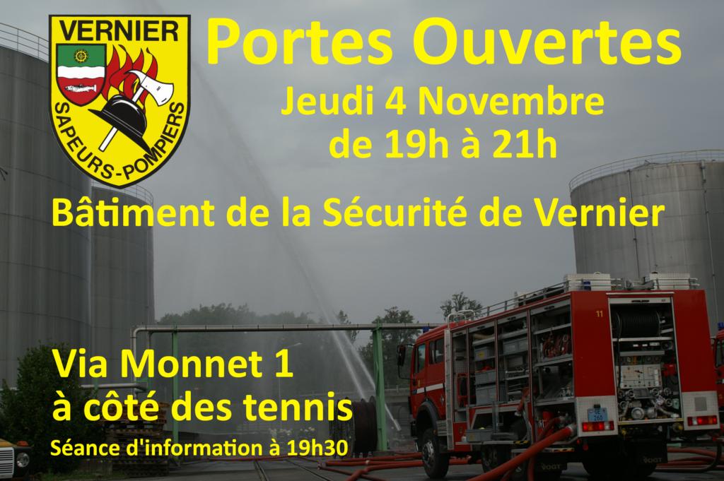 Portes Ouverts - 4 novembre