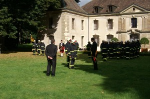 Passation de commandement 2007