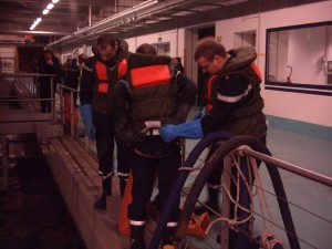 Pollution STEP Aïre 2005