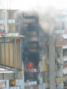 Feu d'appartement Avanchets 2006