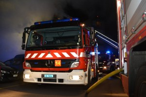 Feu d'appartement Route de Peney 2013